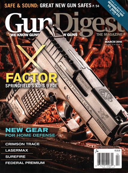 Gun Digest Cover - 3/1/2016