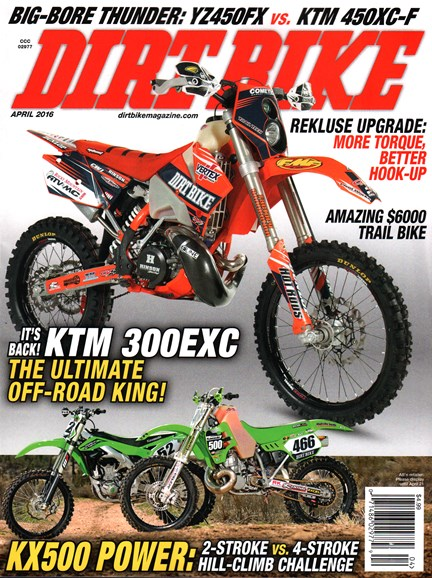 Dirt Bike Cover - 4/1/2016