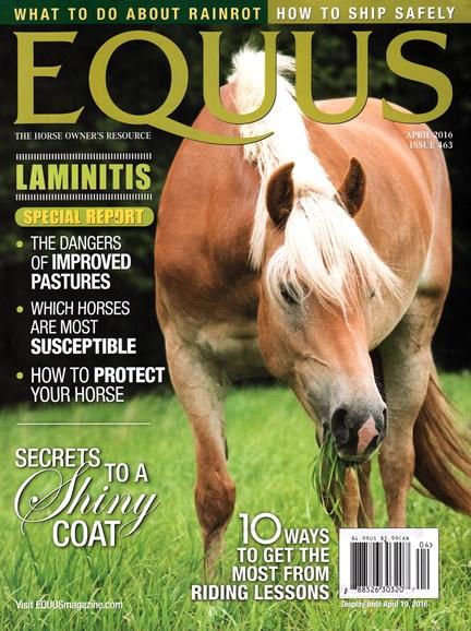 Equus Cover - 4/1/2016