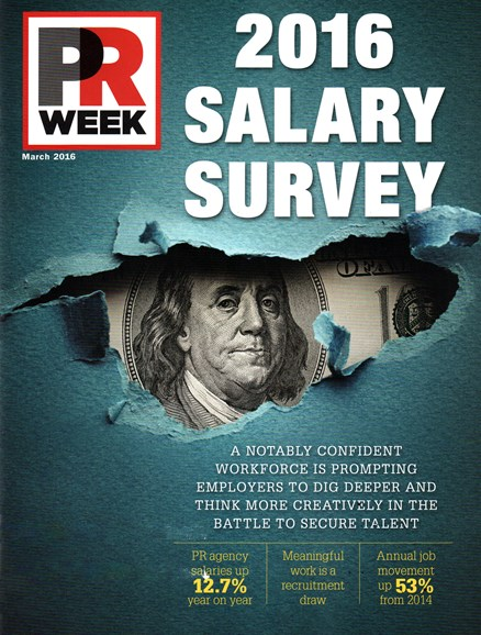 PRWeek Cover - 3/1/2016