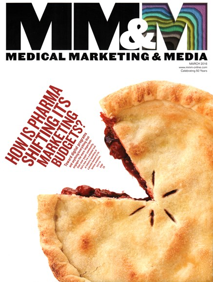 Medical Marketing & Media Cover - 3/1/2016