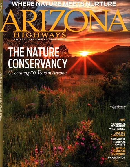 Arizona Highways Cover - 4/1/2016