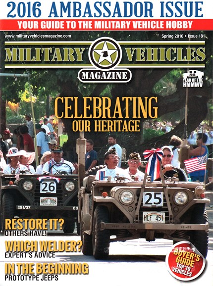 Military Vehicles Cover - 3/1/2016