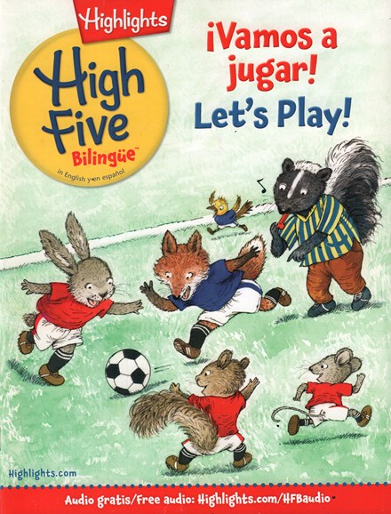 Highlights High Five Bilingue Cover - 4/1/2016
