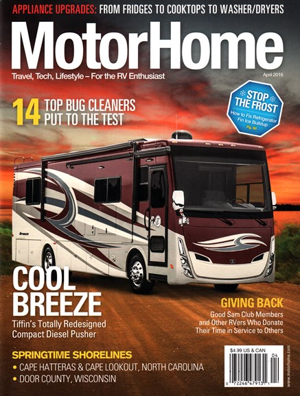 MotorHome Cover - 4/1/2016