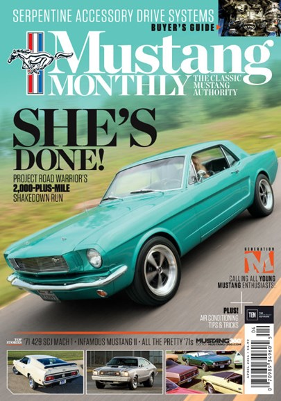 Mustang Monthly Cover - 4/1/2016