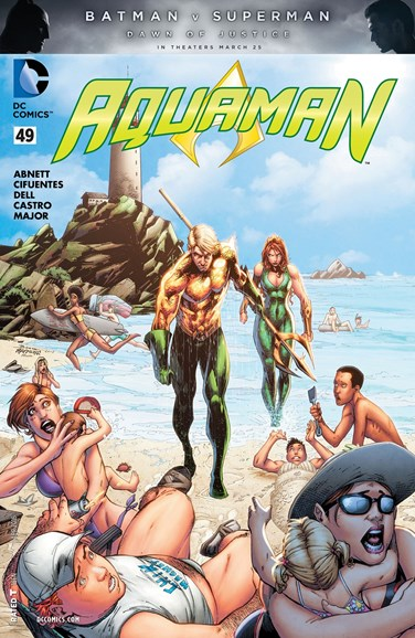 Aquaman Cover - 4/1/2016
