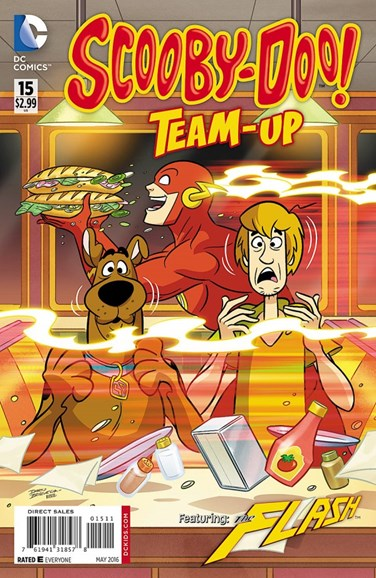 Scooby- Doo Team Up Cover - 5/1/2016