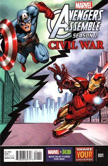Marvel Universe Avengers Assemble Cover - 5/1/2016