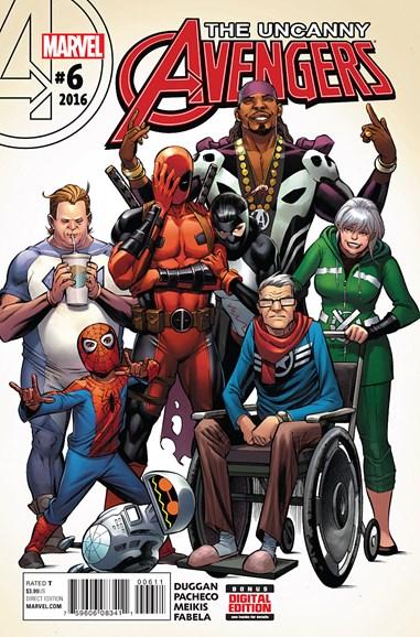 Uncanny Avengers Cover - 5/1/2016