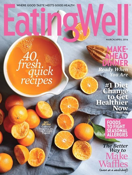 EatingWell Cover - 3/1/2016