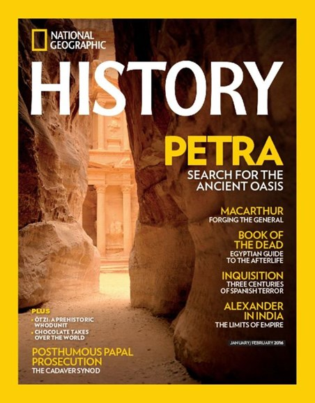 National Geographic History Cover - 1/1/2016