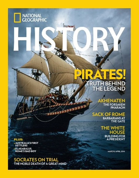 National Geographic History Cover - 3/1/2016