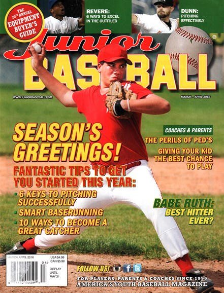 Junior Baseball Cover - 3/1/2016
