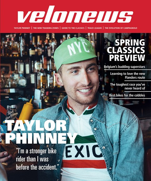 VeloNews Cover - 4/1/2016
