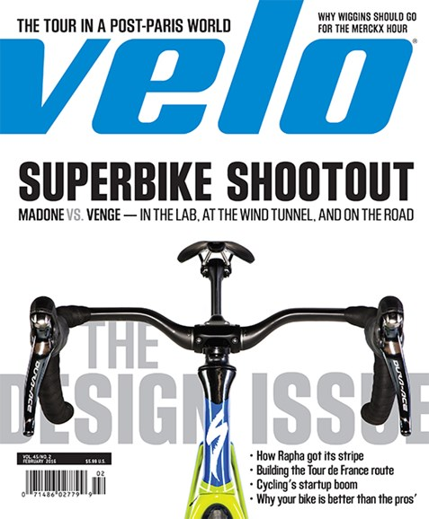 VeloNews Cover - 2/1/2016