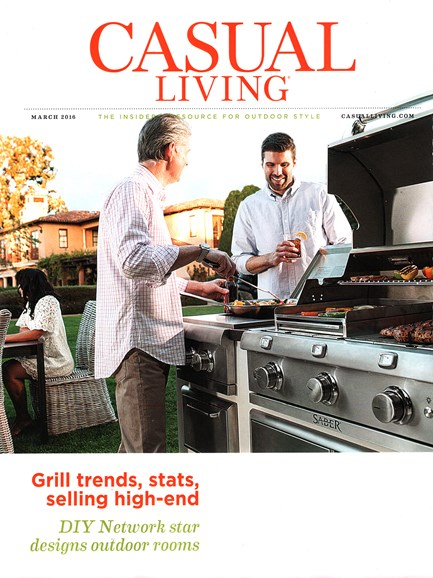 Casual Living Cover - 3/1/2016