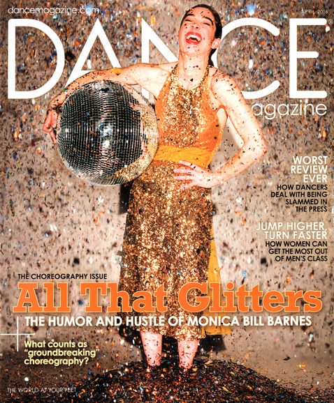Dance Magazine Cover - 4/1/2016