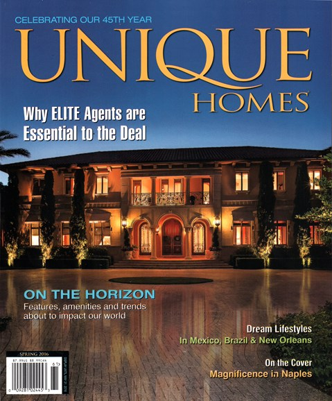 Unique Homes Cover - 3/1/2016