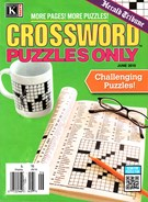 Herald Tribune Crossword Puzzles Magazine 6/1/2016