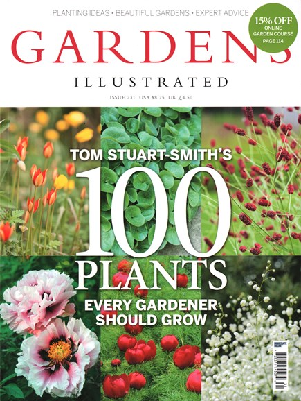 Gardens Illustrated Cover - 2/1/2016