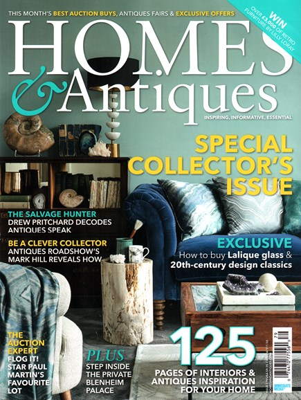 Homes & Antiques Cover - 3/1/2016
