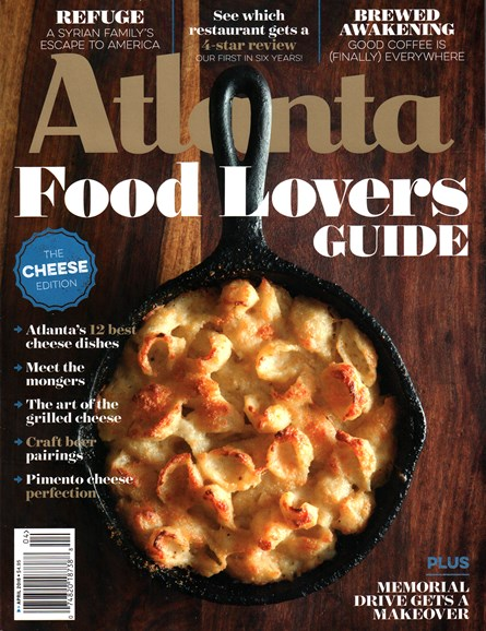 Atlanta Magazine Cover - 4/1/2016