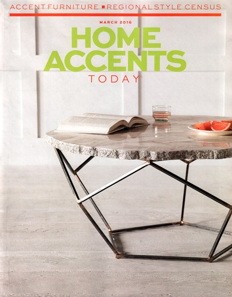 Home Accents Today Cover - 3/1/2016