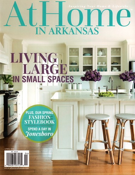 At Home In Arkansas Cover - 4/1/2016