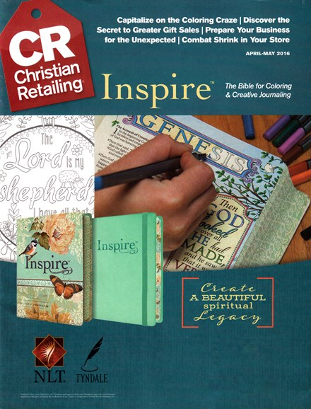 Christian Retailing Cover - 4/1/2016