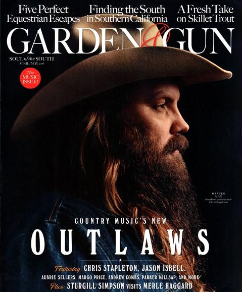 Garden & Gun Cover - 4/1/2016