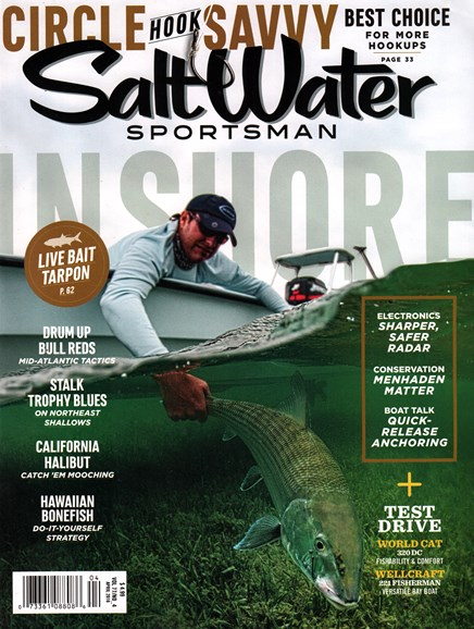 Salt Water Sportsman Cover - 4/1/2016