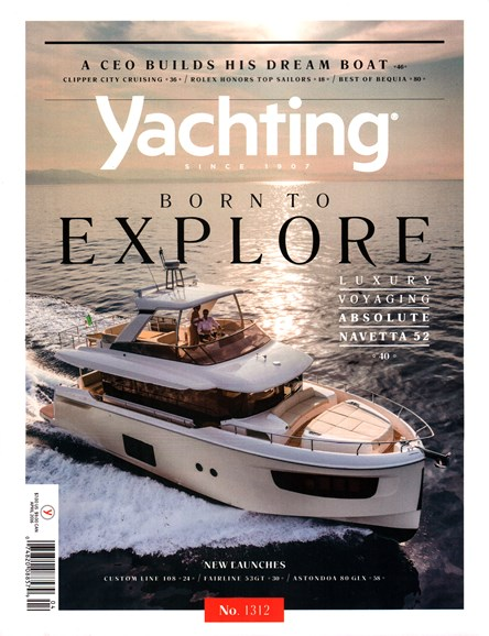 Yachting Cover - 4/1/2016