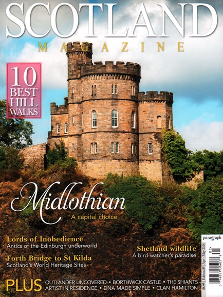 Scotland Magazine Cover - 4/1/2016