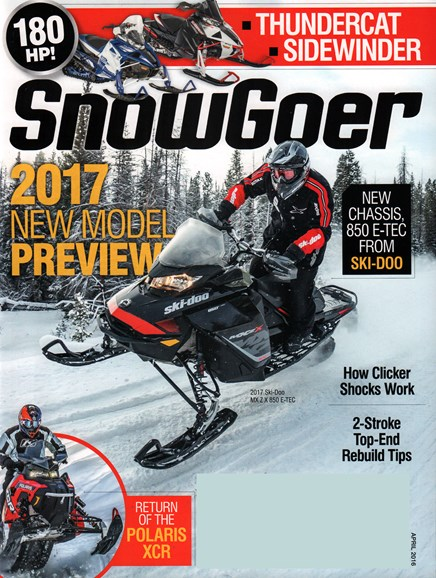 Snow Goer Cover - 4/1/2016