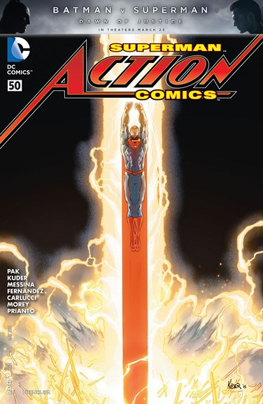 Action Comics Cover - 5/1/2016