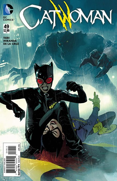 Catwoman Cover - 4/1/2016