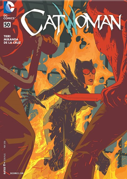 Catwoman Cover - 5/1/2016