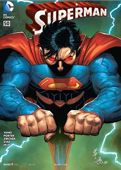 Superman Cover - 5/1/2016