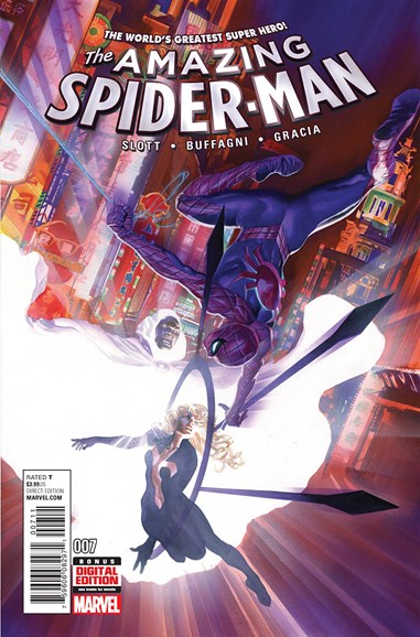 Amazing Spider-Man Cover - 4/1/2016
