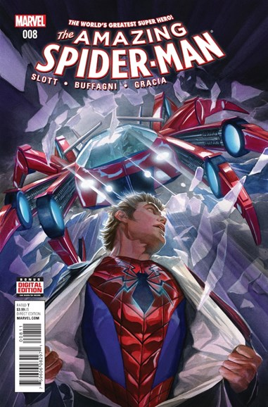 Amazing Spider-Man Cover - 4/15/2016