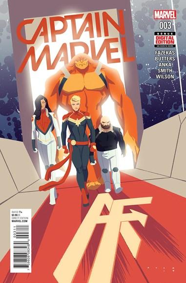Captain Marvel Cover - 5/1/2016