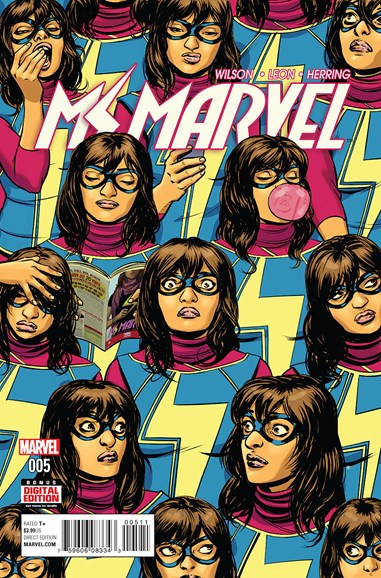 Magnificent Ms. Marvel Cover - 5/1/2016