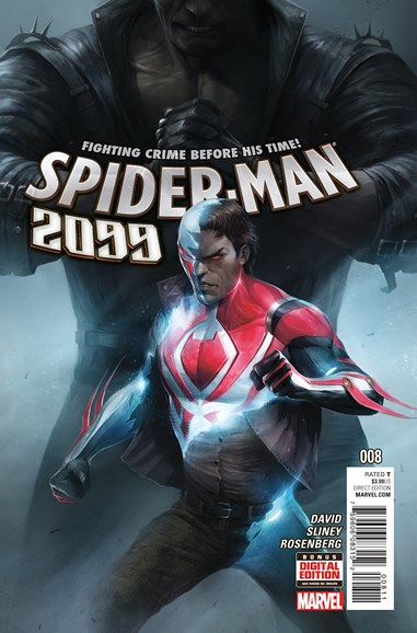 Spider-Man 2099 Cover - 5/1/2016