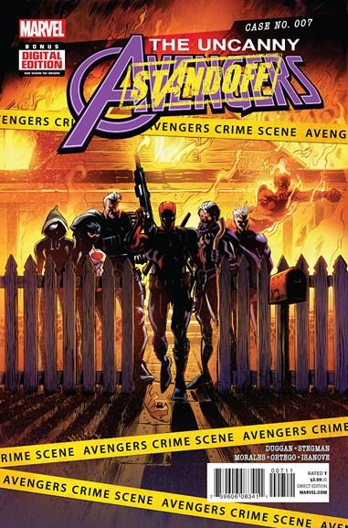 Uncanny Avengers Cover - 5/15/2016