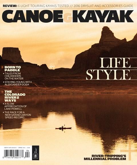 Canoe & Kayak Cover - 3/1/2016