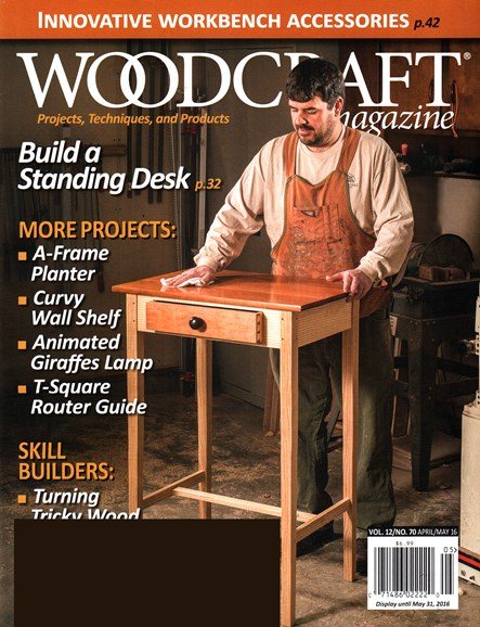 Woodcraft Cover - 4/1/2016