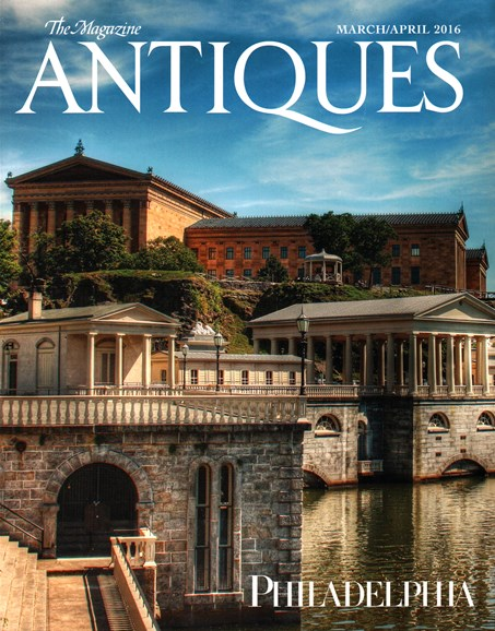 The Magazine Antiques Cover - 3/1/2016