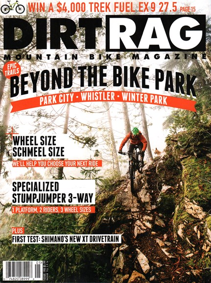 Dirt Rag Cover - 3/15/2016