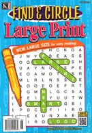Find and Circle Large Print Magazine 6/1/2016